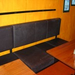 Custom Benches at Coopers Coffee