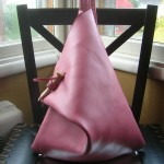Rose Water Triangle Purse